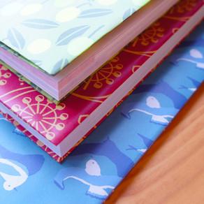 月いち商品企画…いや、ギフトラッピングはじめます! Wrapping paper!
