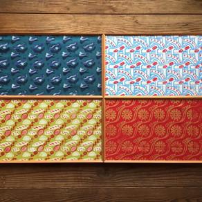 木工作家さんのファブリックパネル! Fabric Panel made craftsman!