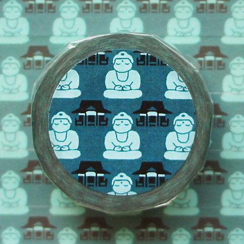 パターンマスキングテープ 大仏/Great Buddha