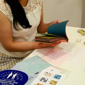 銀座のギャラリーでワークショップを開催しました! Workshop at gallery in Ginza has finished!