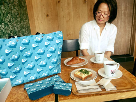 ゆるびあさんとバッグプロジェクト!その2 Bag making project! Vol.2