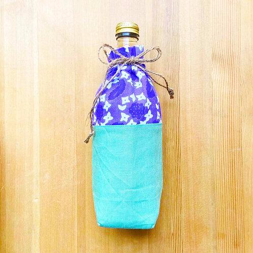 ボトルカバー ガクアジサイ/Lace cap hydrangea