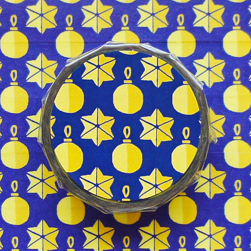 パターンマスキングテープ オーナメント/Ornament