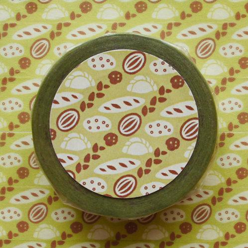 パターンマスキングテープ パン/Bread