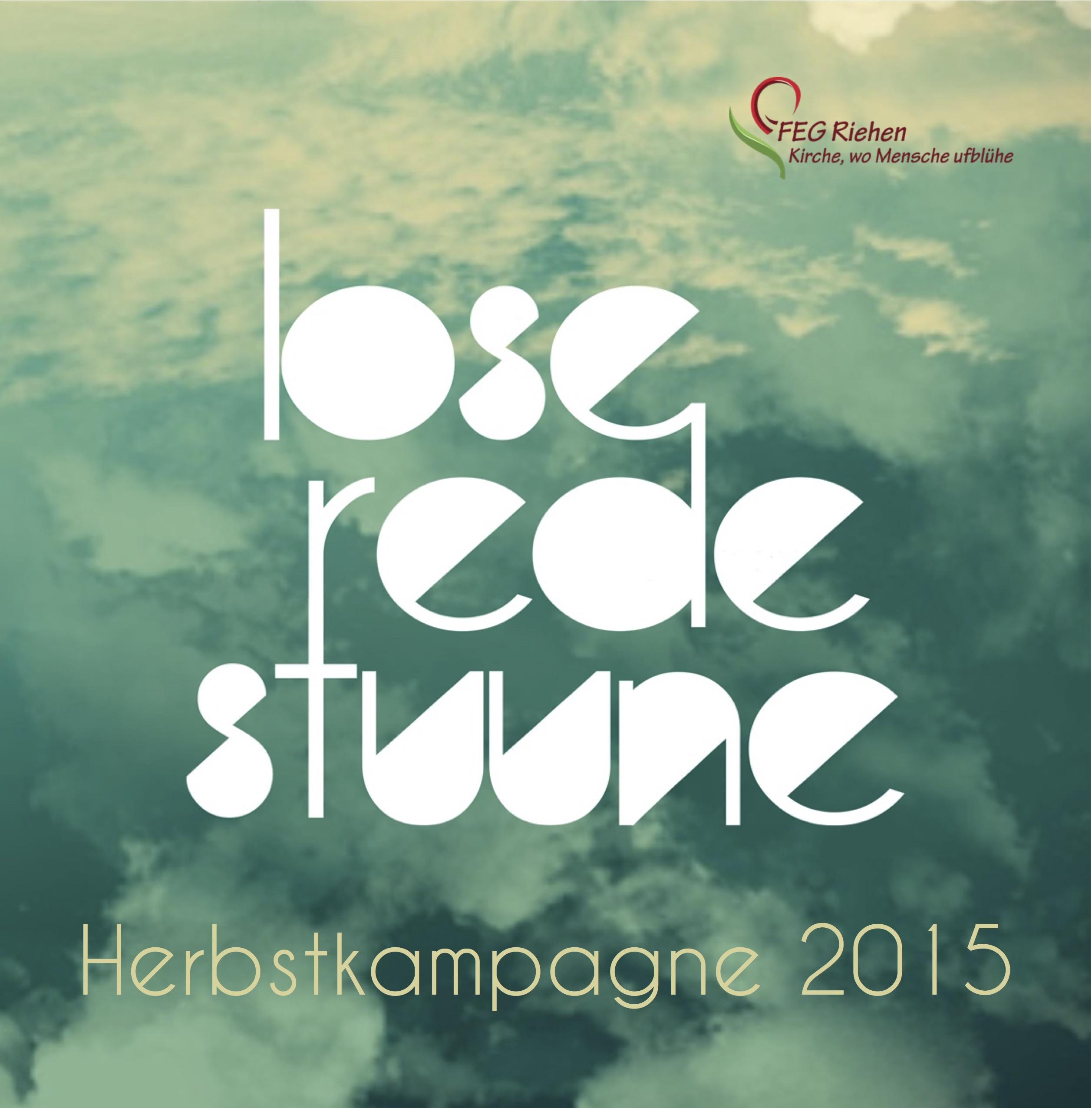 Herbstkampagne 2015
