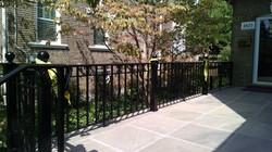 Decorative porch rail