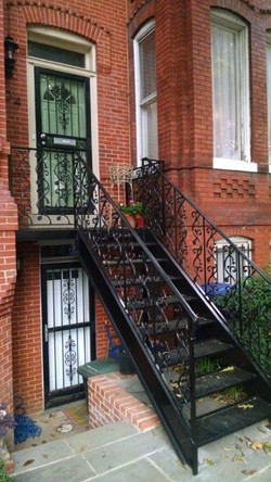 Decorative stair rails
