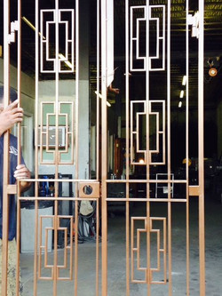 Squared Security Gate