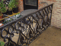 Railing - Porch - decorative panels