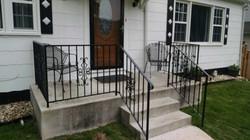 Porch rails w/ Victorian panels