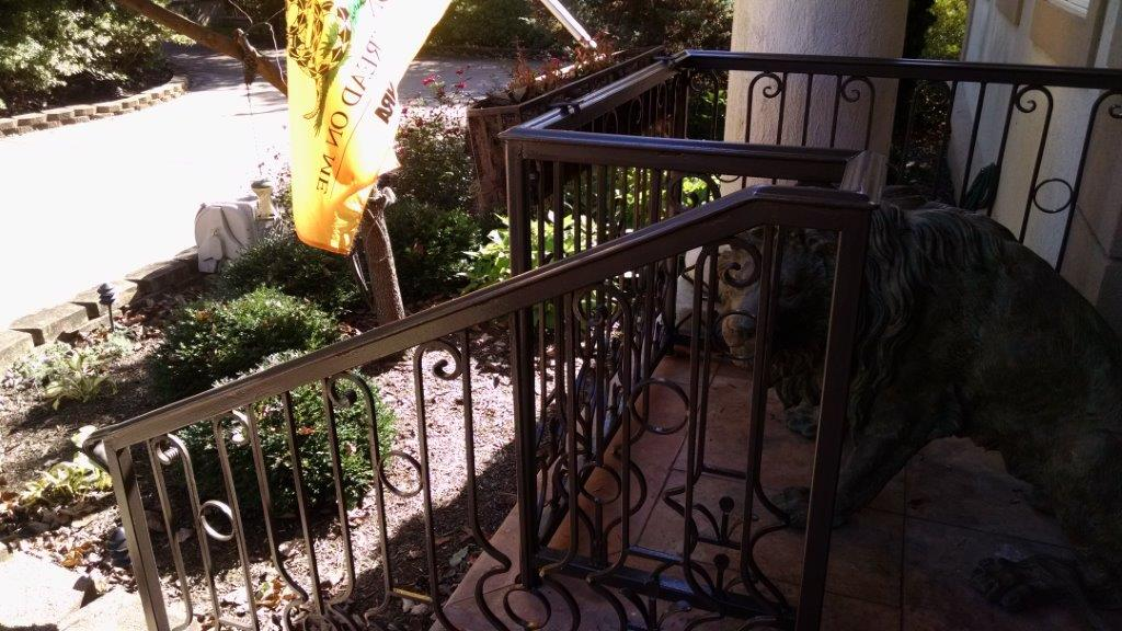 Decorative porch & stair rails