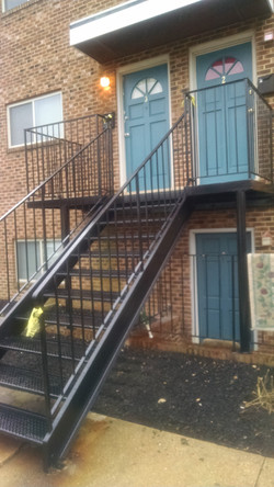 Porch & stairs