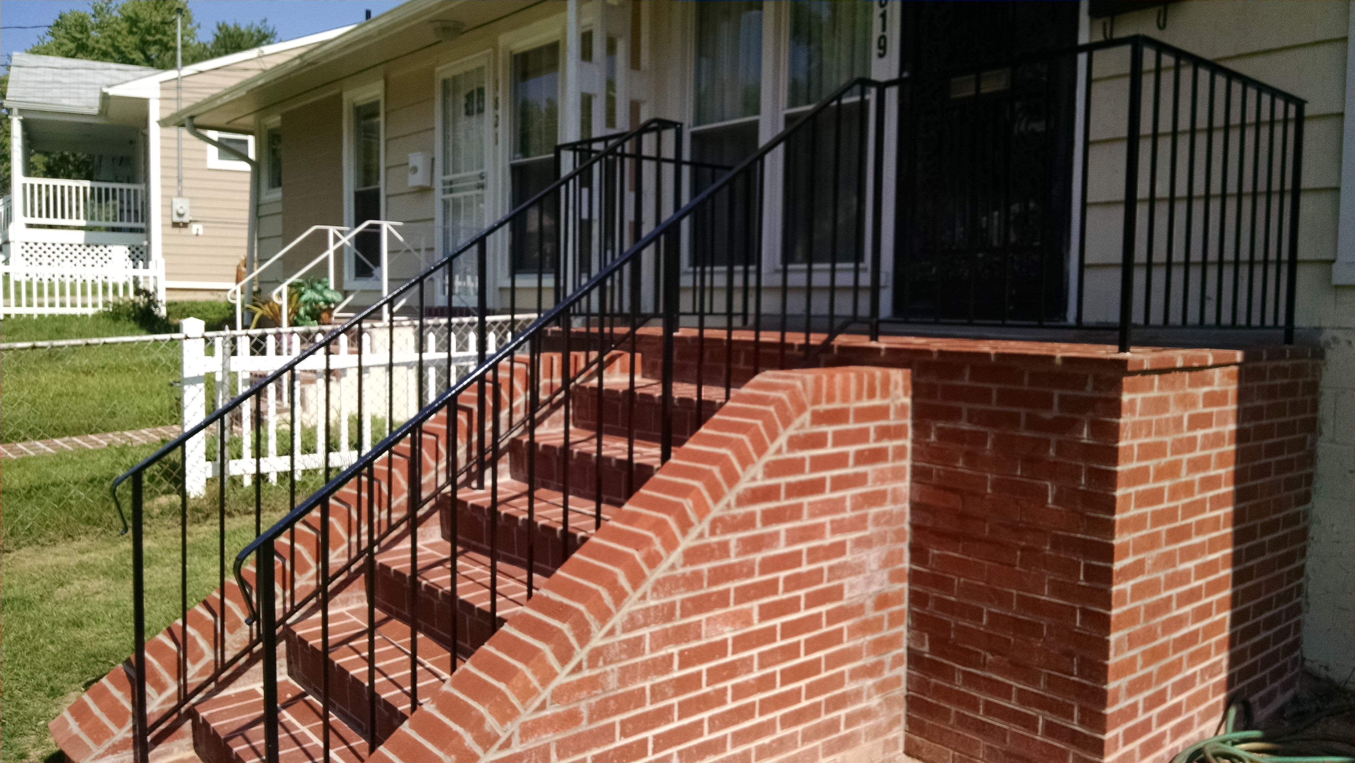 Basic porch & stair rail