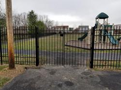 Wexford Village playground gates