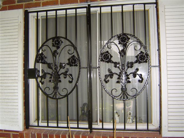 Decorative Window Guard/ Window Gate