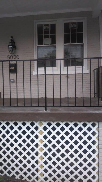 Railing - basic porch rail
