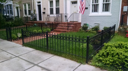 Fence with O rings