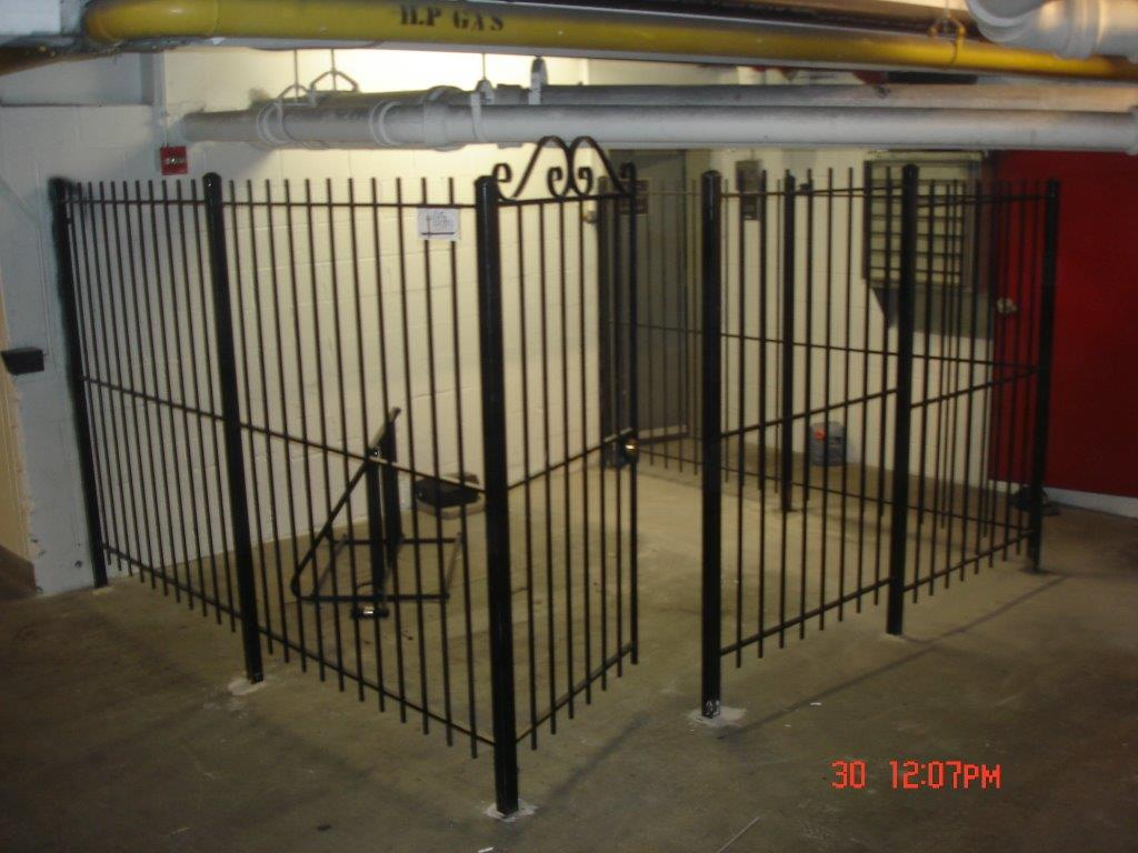 Bike/utility area gate