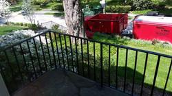 Porch rails