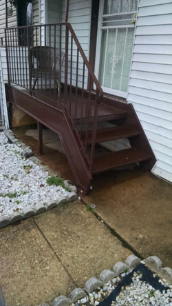 Brown Porch
