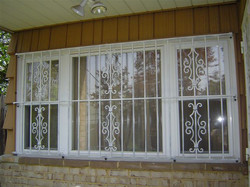 Window Guard with Victorian Panel