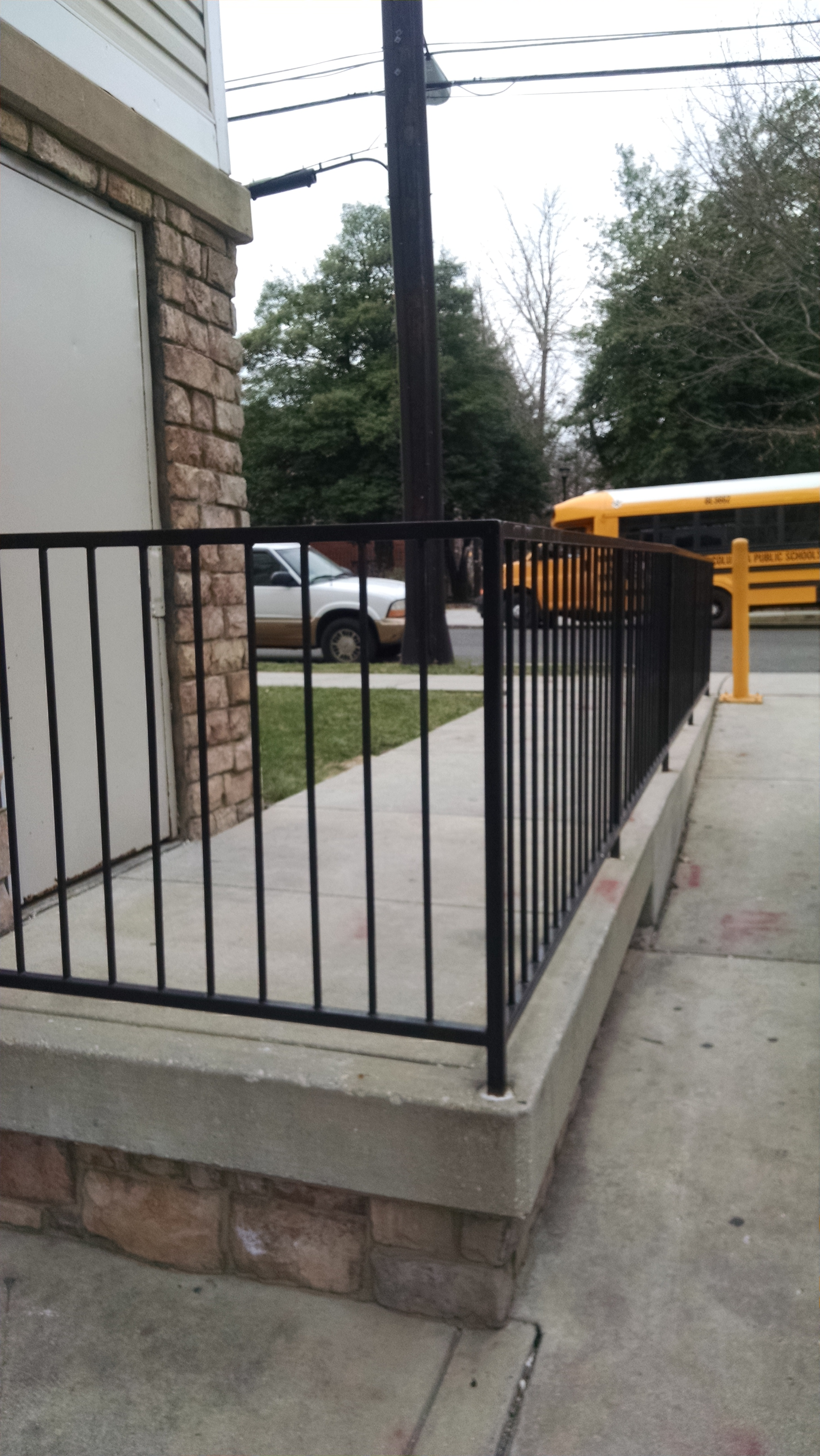 Ramp rails