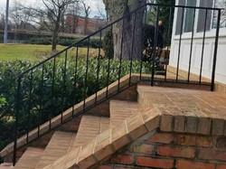 Basic porch rails