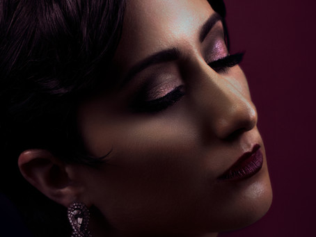 Magazine inspired beauty session with Bergette Photography