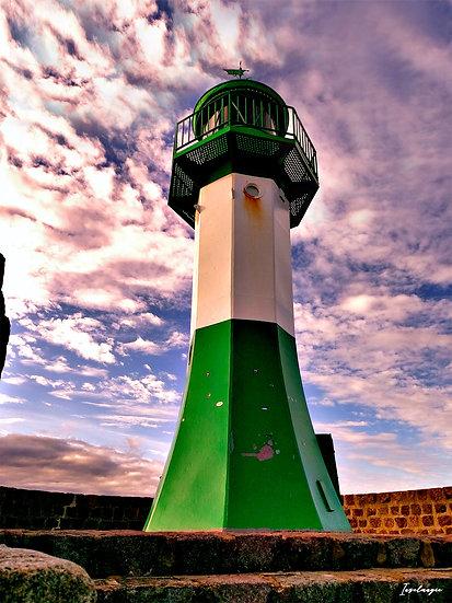 Nr.138 Leuchtturm auf der Ostmole in Sassnitz