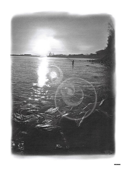 Nr.49  - Sassnitz Dwasieden im Sonnenuntergang