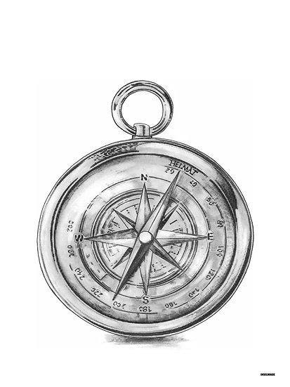 Nr.31  - Kompass mit Kurs auf die Heimat