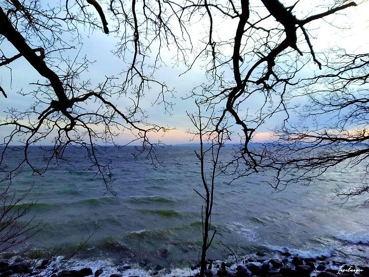 Nr.17 Morgenstimmung am alten Strand in Sassnitz