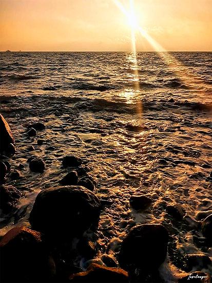 Nr.21 Morgenstimmung am alten Strand in Sassnitz