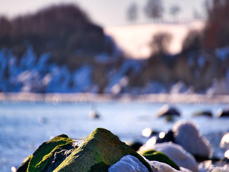 Nr.260 Winterimpression am alten Strand von Sassnitz