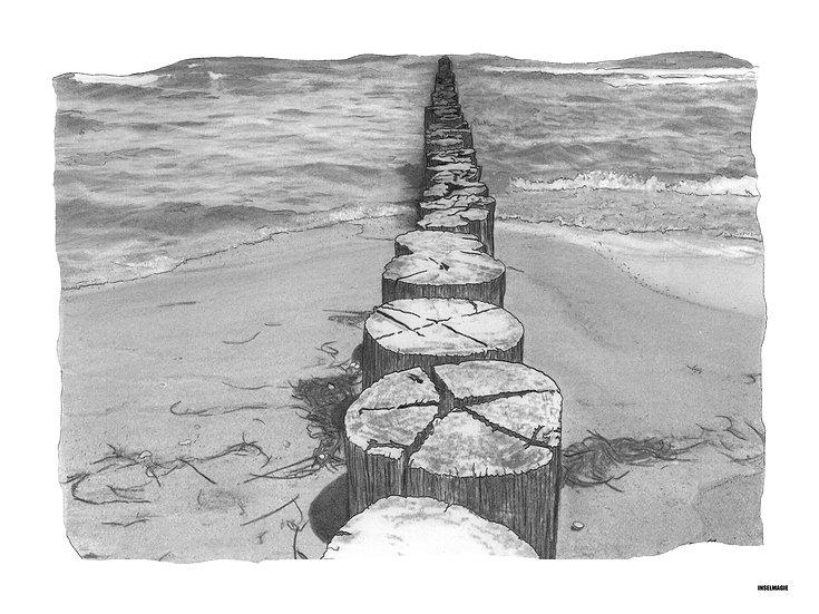Nr.4 -  alte Buhne am Strand