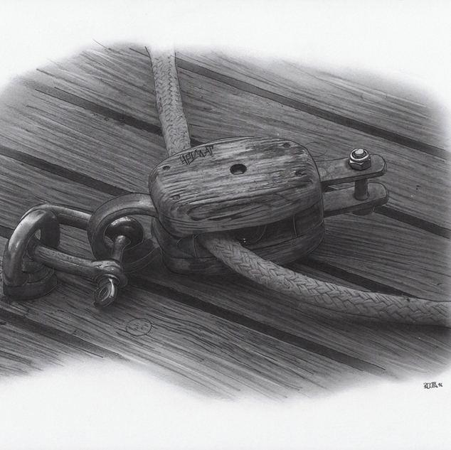 alte Seilrolle