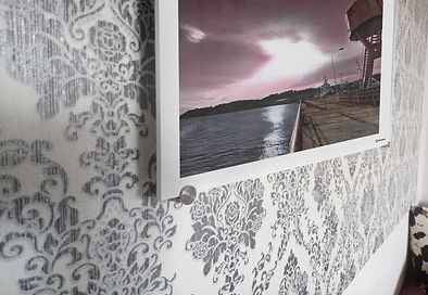 hancolorierte Fotos auf Forexplatte Inselmagie