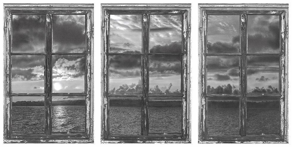 Fenster zur See / Ausschnitt 3tlg. ( 3Einzelbilder)