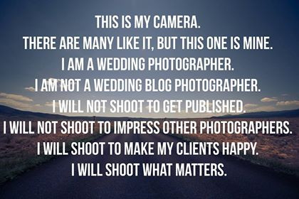 An Open Letter About Photography