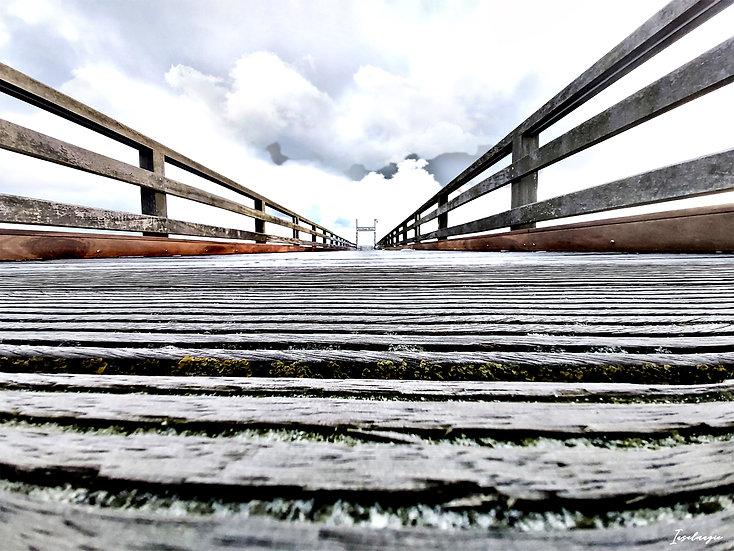Nr.244 die binzer Seebrücke im Winter