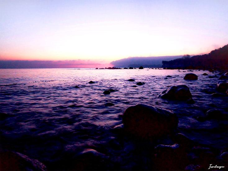 Nr.268  Morgenstimmung am Strand von Glowe