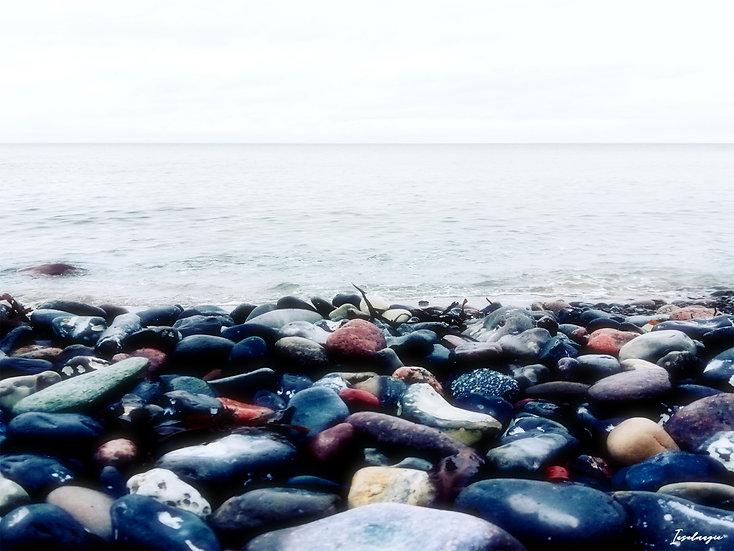 Nr.8 Glowe am Steinstrand mit Blick auf die Ostsee