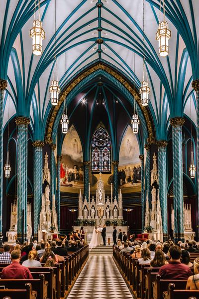 St. Francis Xavier Church Wedding