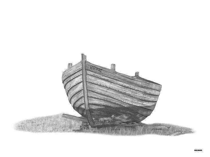 Nr.5 - altes Fischerboot