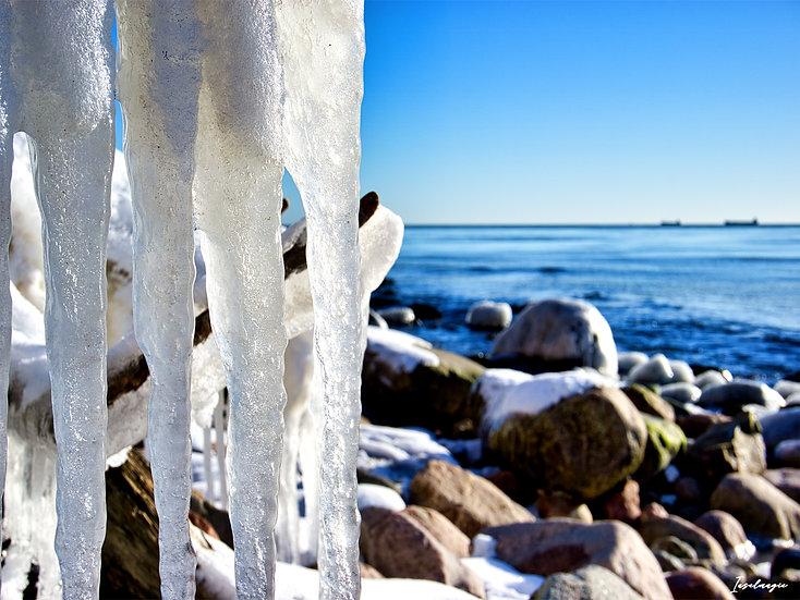 Nr.253 Winterimpression am alten Strand von Sassnitz