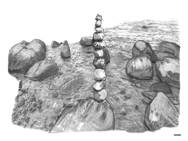 Nr.65  -Steinstapel