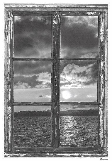 Fenster zur See / Ausschnitt als Einzelbild