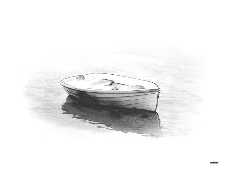 Nr.13  - Boot im Sonnenaufgang