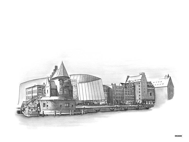 Nr.66  - Stralsund Hafen Ozeaneum