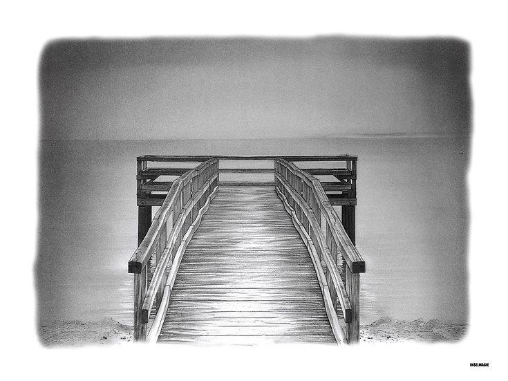 Nr.18 - einsamer Steg im Nebel